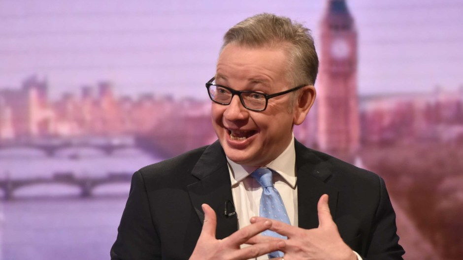 Michael Gove said the best politicians learn from their mistakes