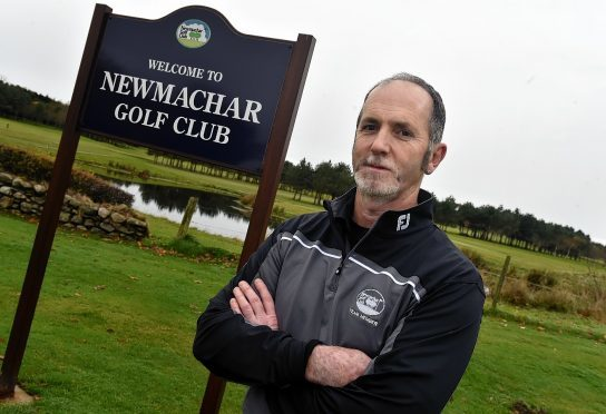Peter Thomson has been reinstated at Newmachar Golf Club.