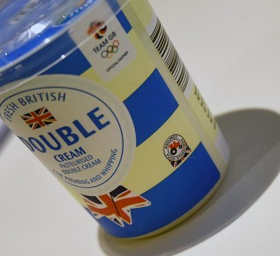 The Red Tractor logo is present on many food products