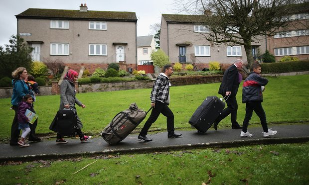 Syrian refugees arriving on Isle of Bute