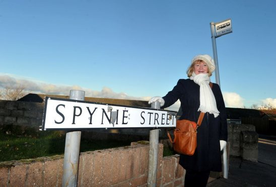 Councillor Patsy Gowans is eager to find a compromise to retain bus services in Elgin.