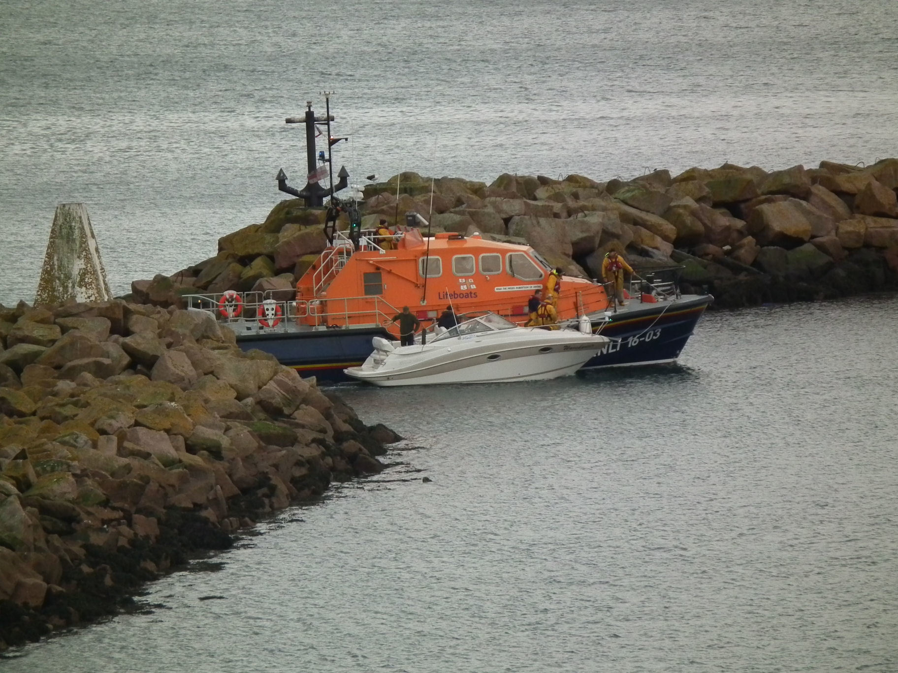 Peterhead lifeboat has been called out