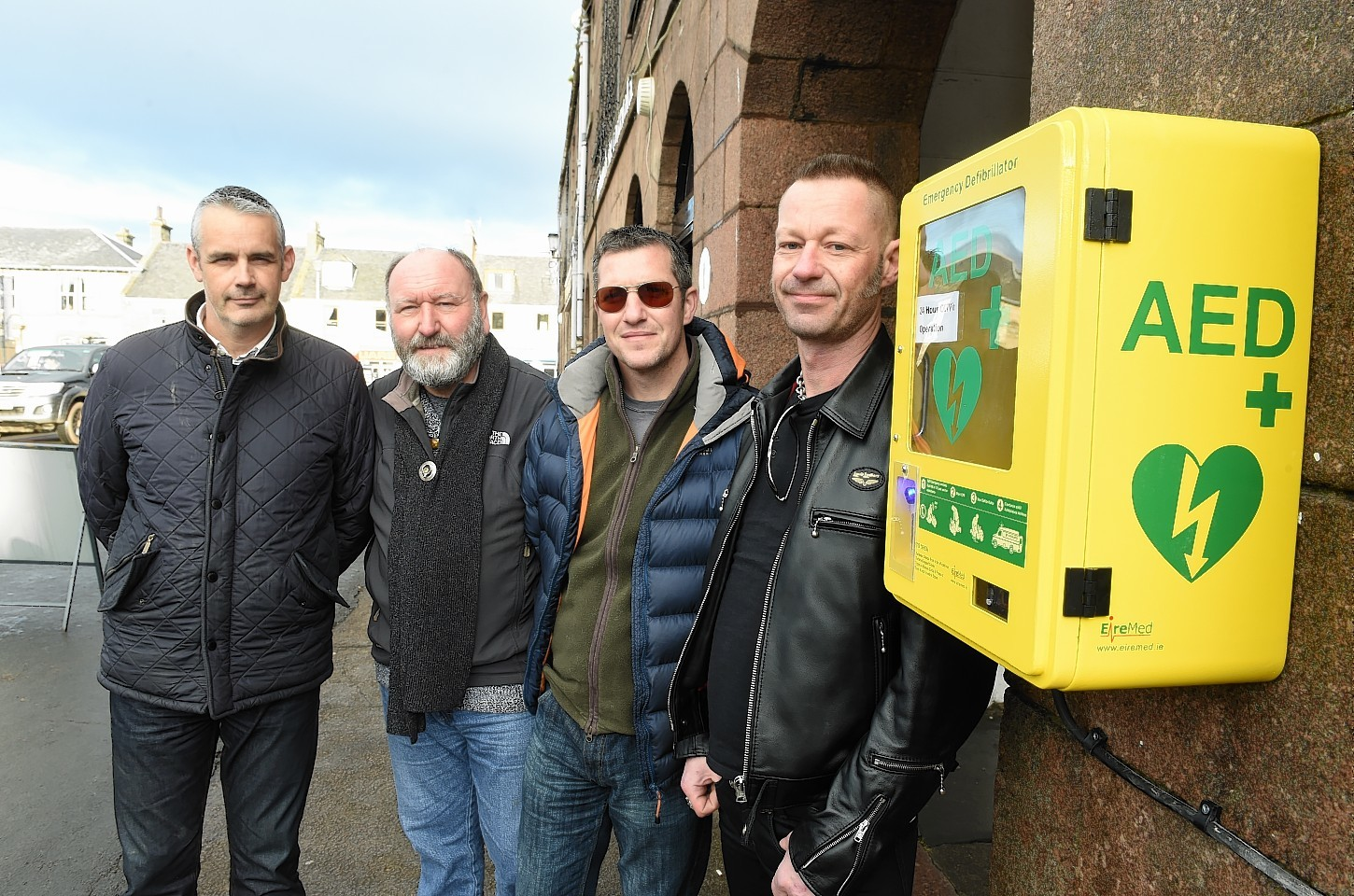Stonehaven's new defibrillator has arrived