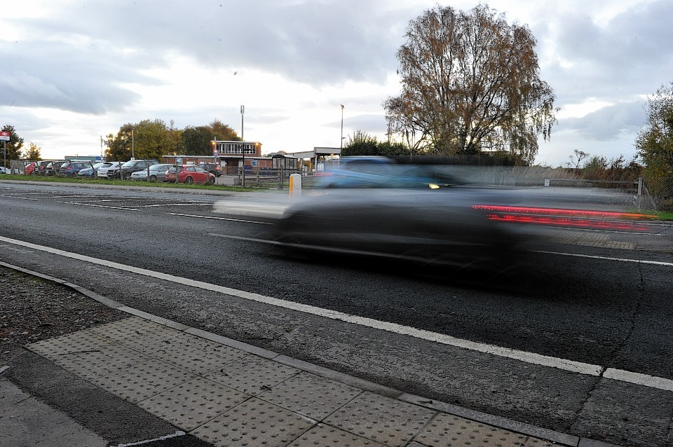 Campaigners want a crossing over the A96 to get to the train station in Forres.