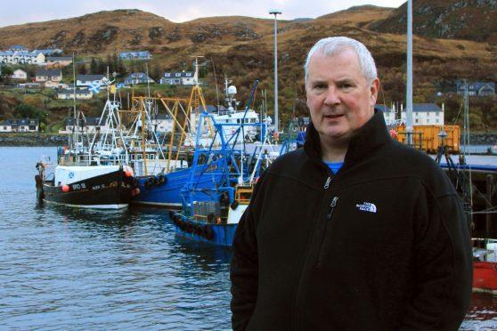 John Hermes at Mallaig Harbour.