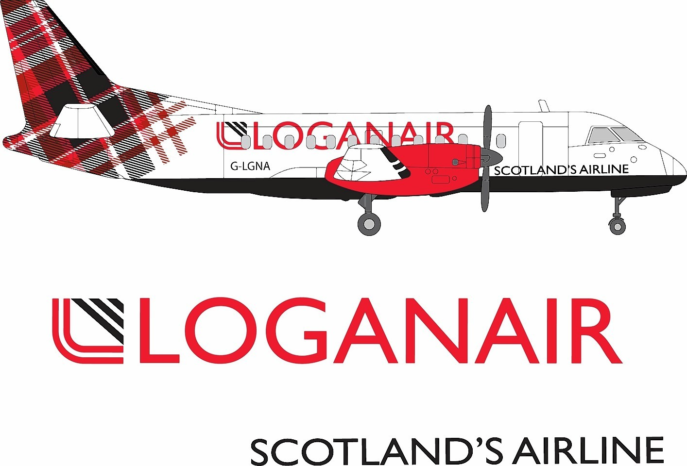 LoganAir apologised for the inconvenience of passengers.