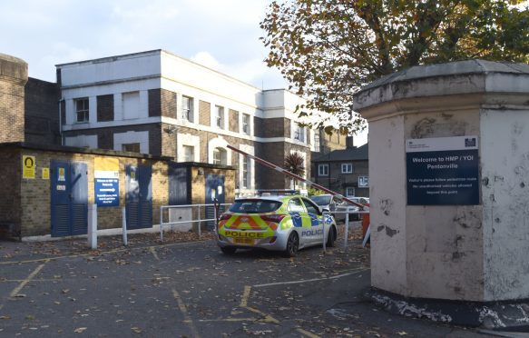 A general view of Pentonville Prison, north London, where two inmates escaped from, it has emerged.