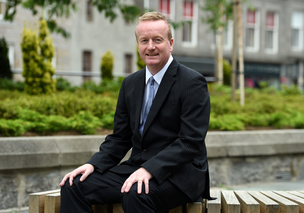 Adrian Watson, chief executive of Aberdeen Inspired