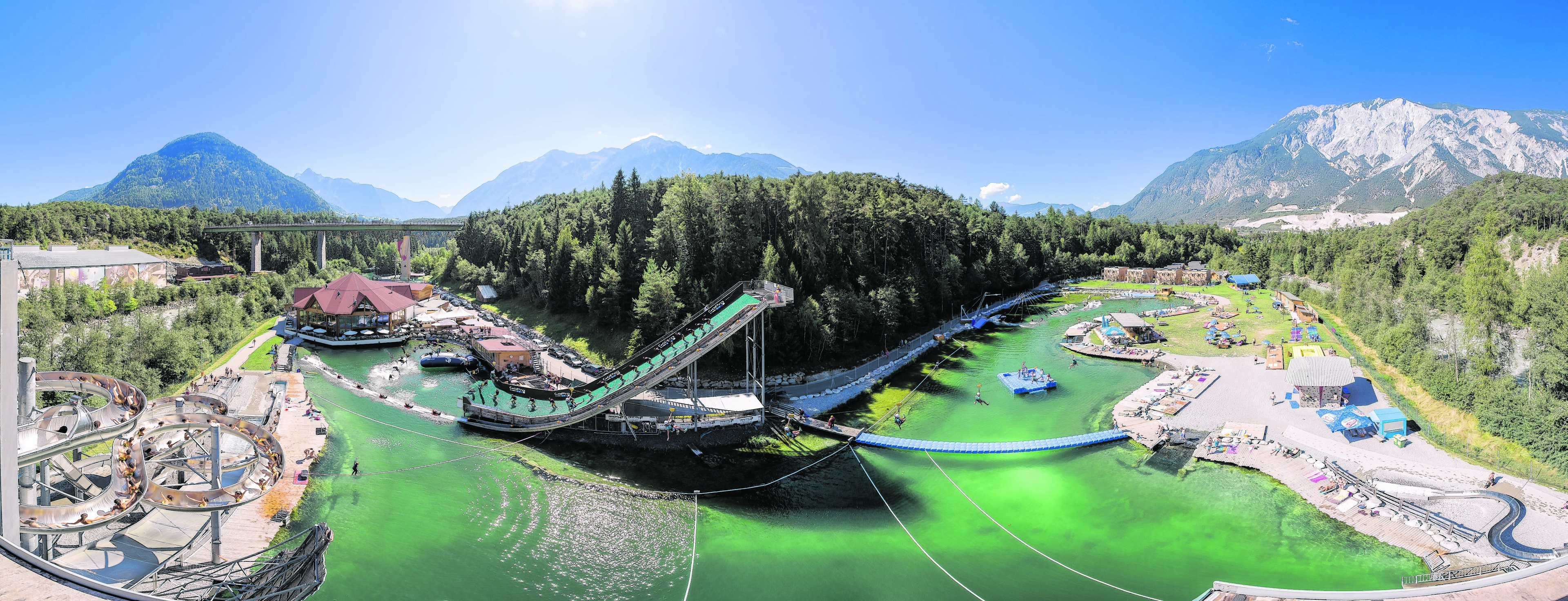 """Area47's slogan is """"an action packed holiday in Ötztal"""""""