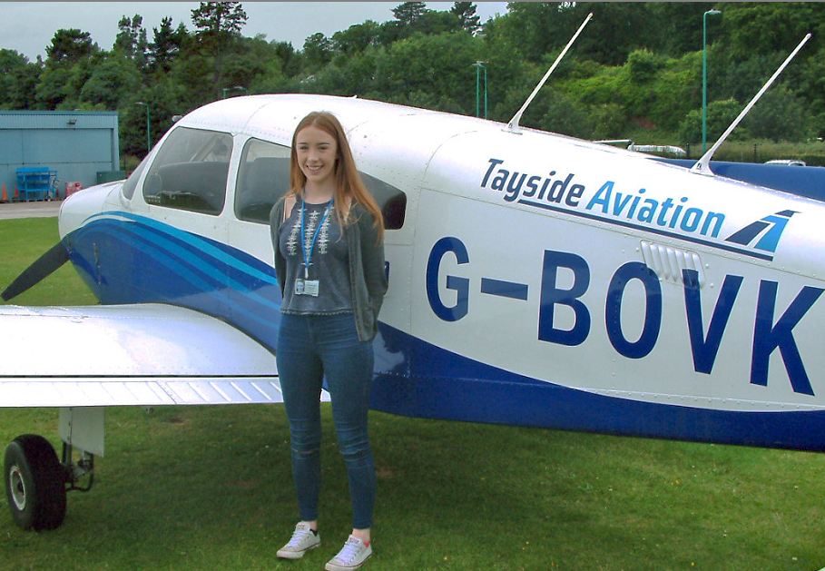 Zoe has always dreamed of being a pilot