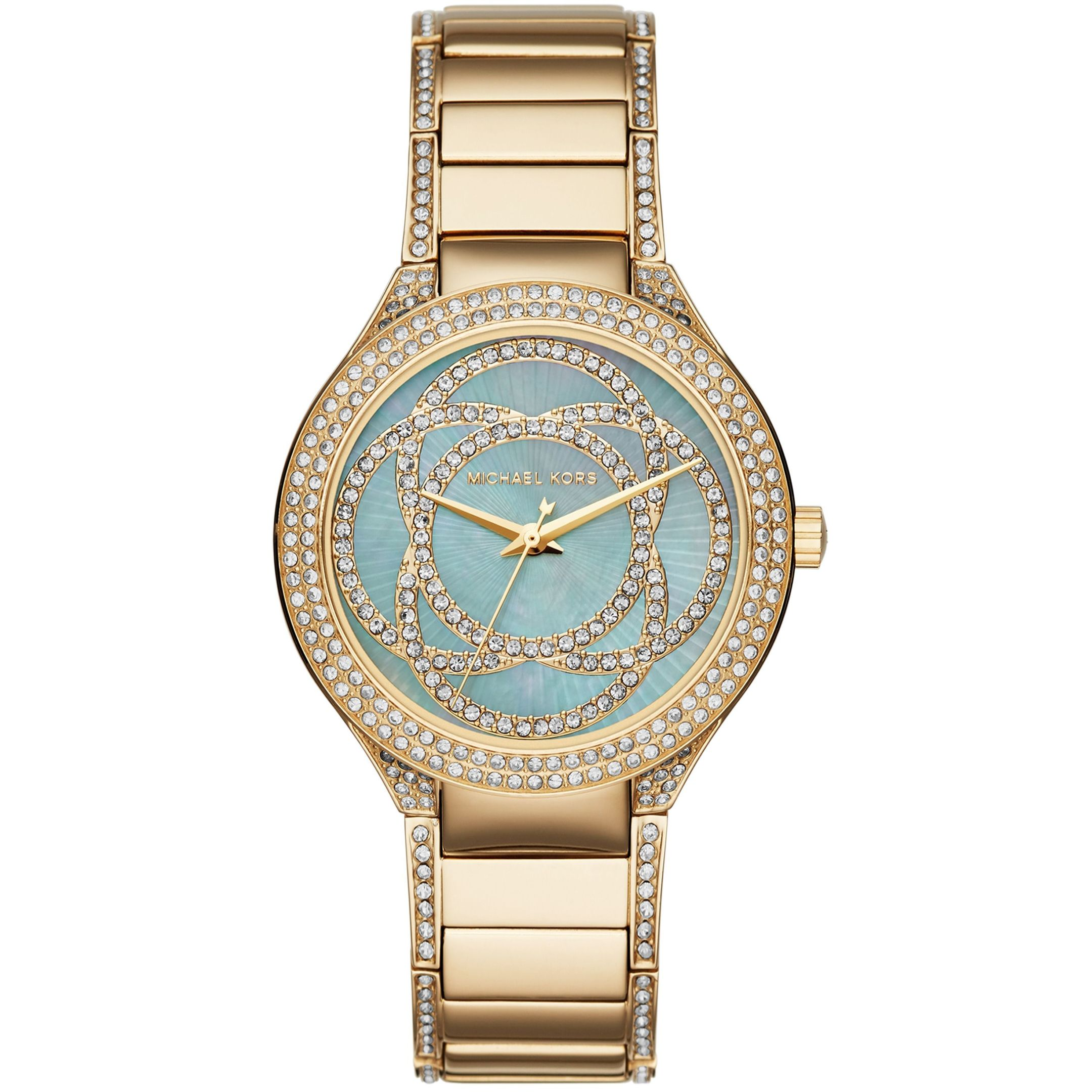 Fashionably on time... Michael Kors Ladies' Kerry Watch, currently £147.00 from £259, Watchshop.com (www.watchshop.com)