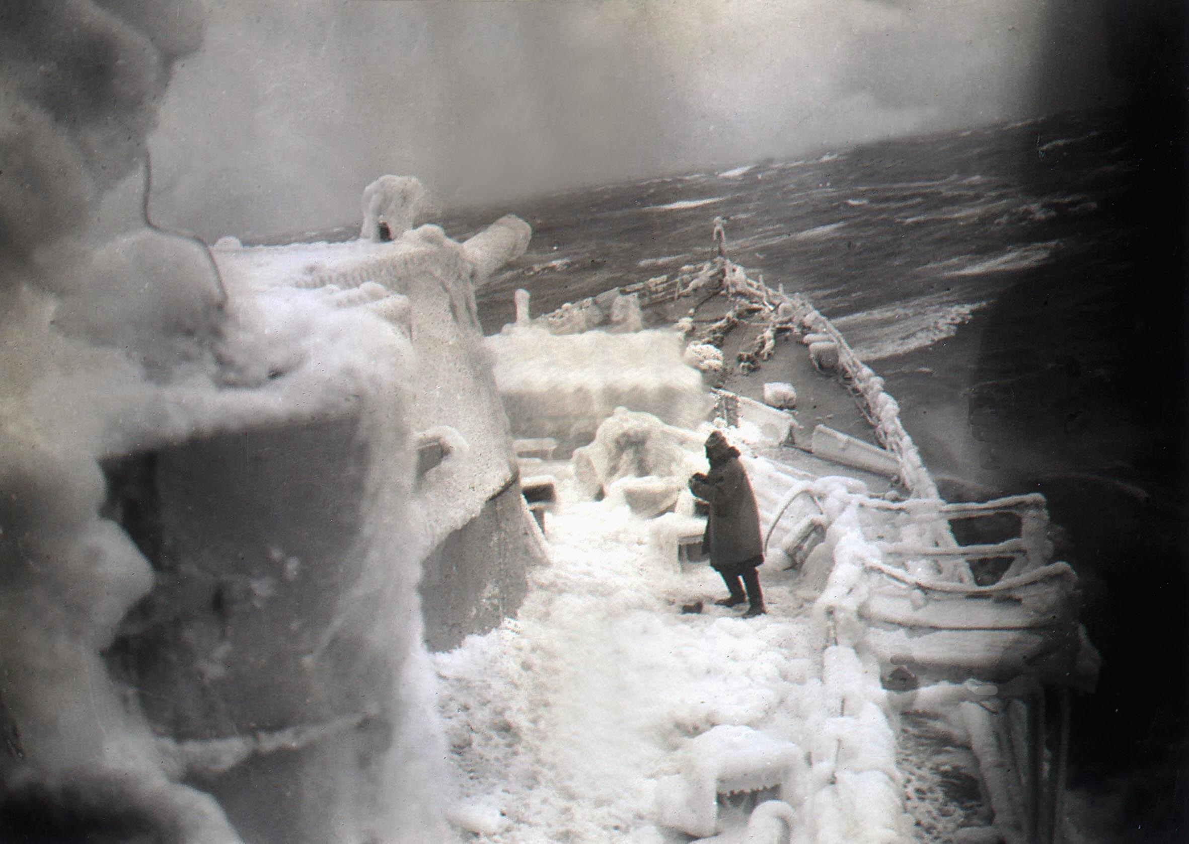 The Russian Arctic Convoy involved ships serving vital trade routes to Russia.