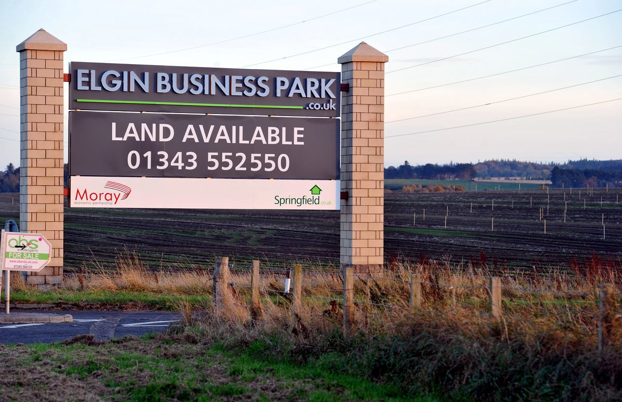The Barmuckity Business Park is now able to be marketed.