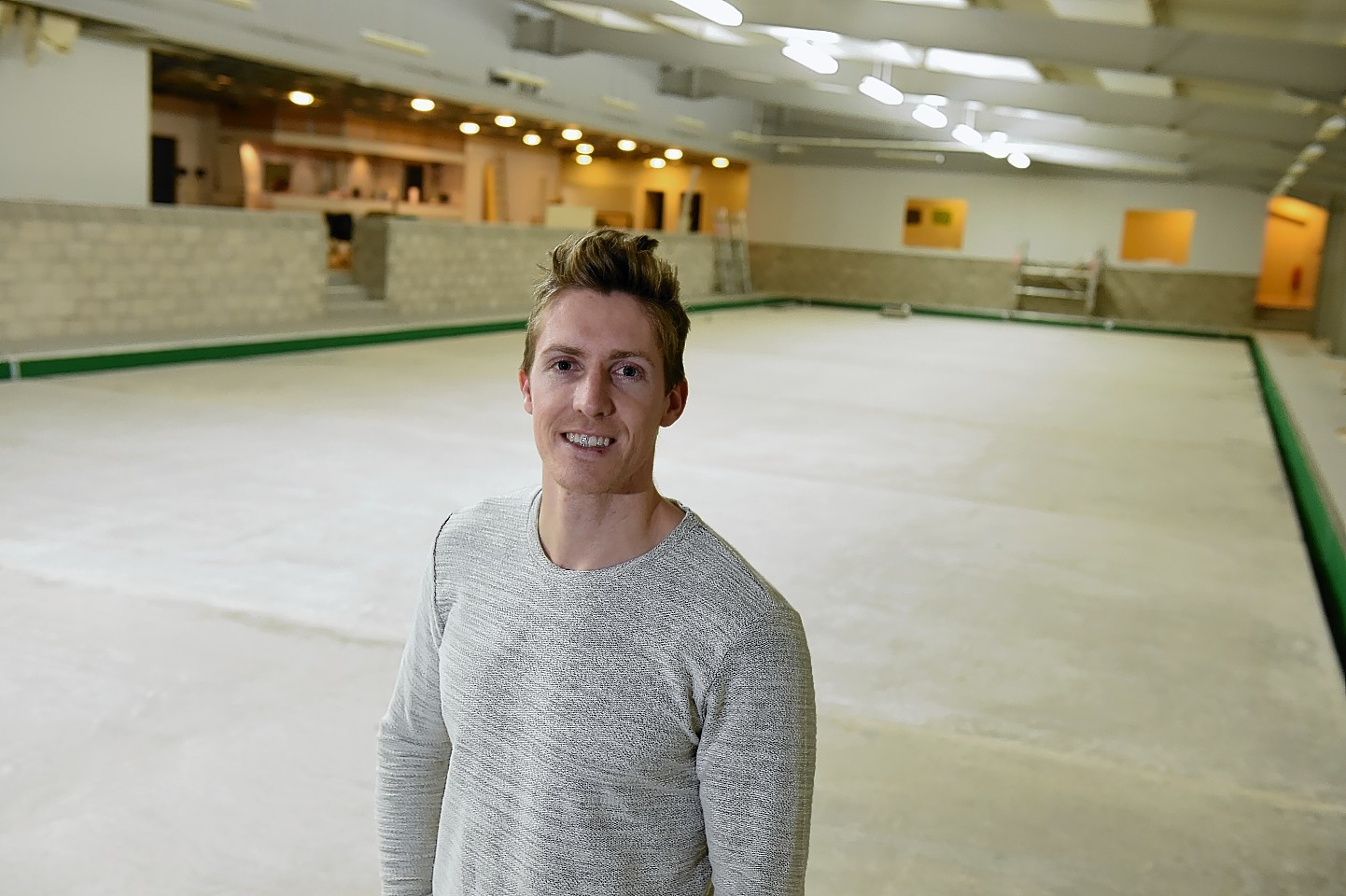Ben Kilner is expanding his gym, The Unit, in Banchory. Picture: Kenny Elrick.