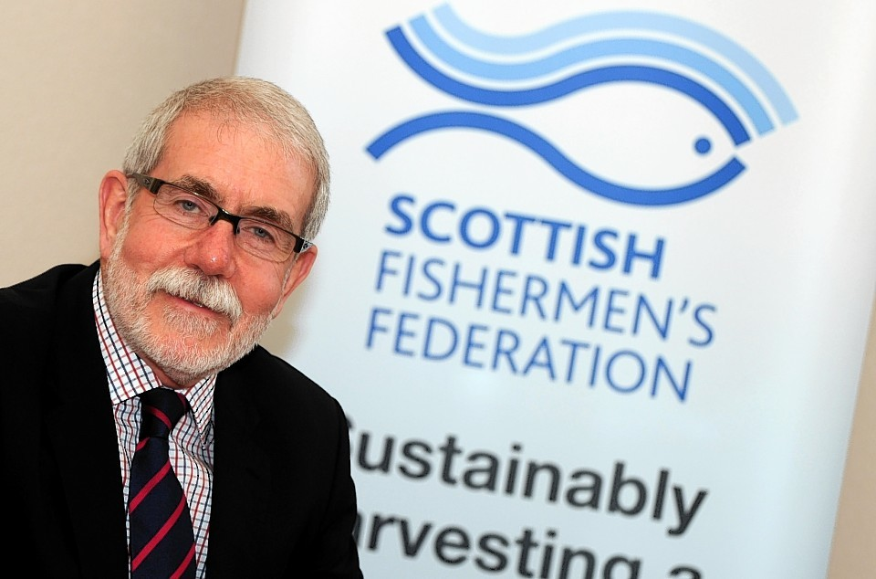 Bertie Armstrong, Scottish Fisherman's Association chief executive.