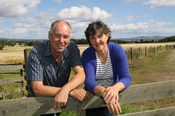 Brian and Caroline Matheson hosted the project