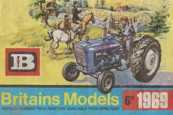 A Britains Models catalogue from 1969