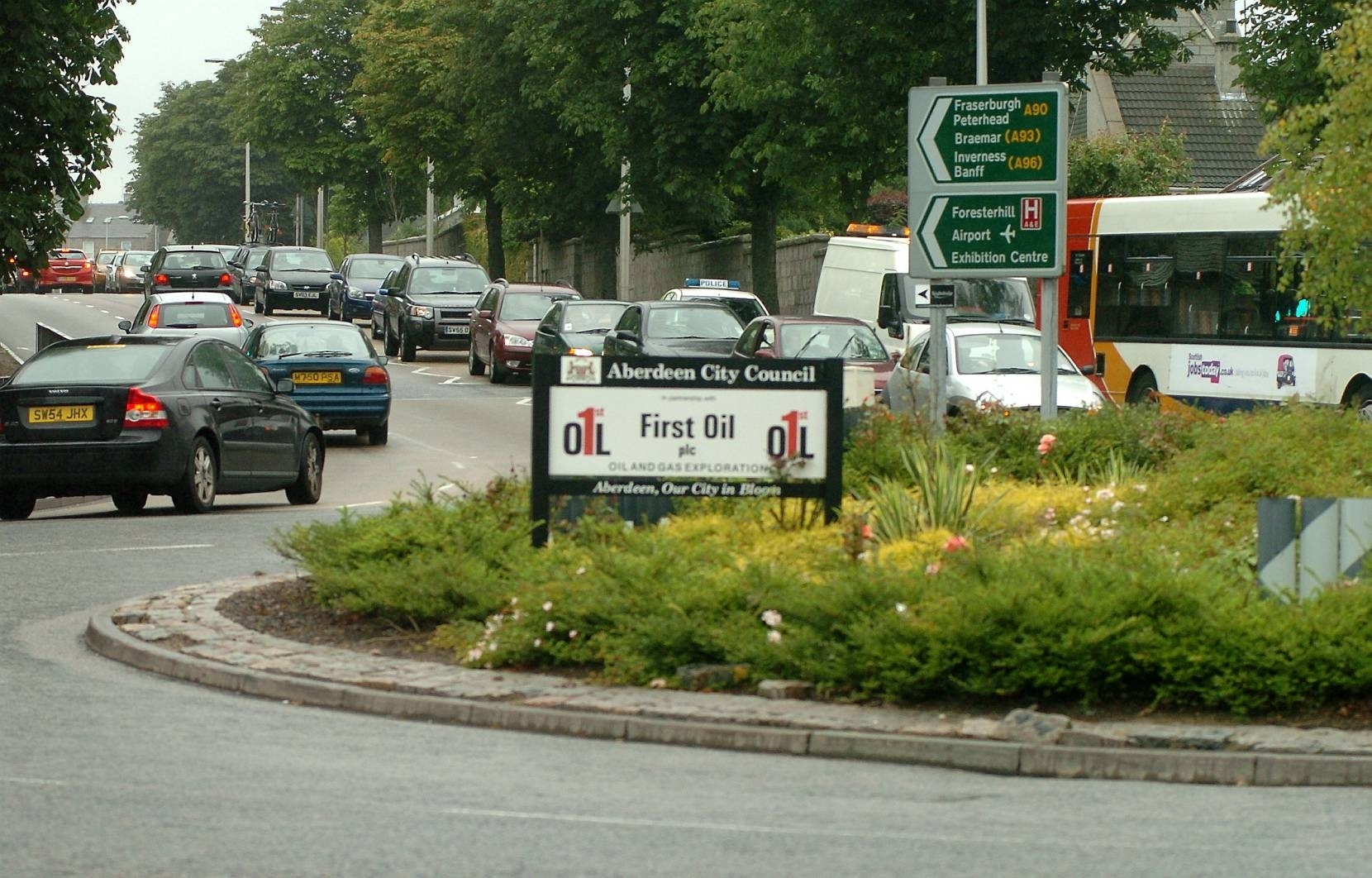 The Broomhill Road roundabout is one of the features under consideration