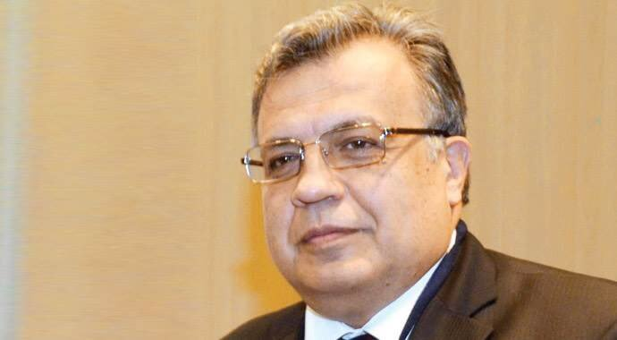 Andrey Karlov was visiting the gallery with other officials when he was assassinated.