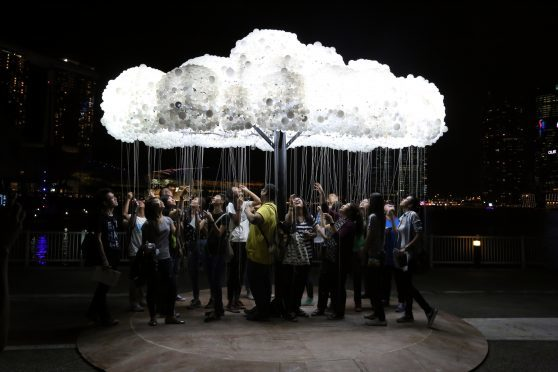 The CLOUD when in Singapore
