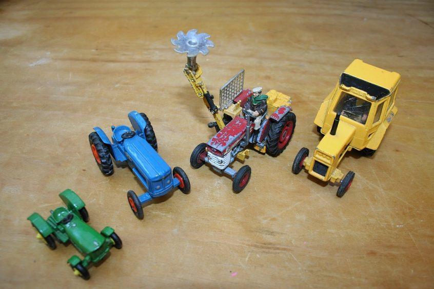 A selection of Corgi models