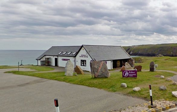The venue is shared by tourist information and Highland Council's countryside ranger service.