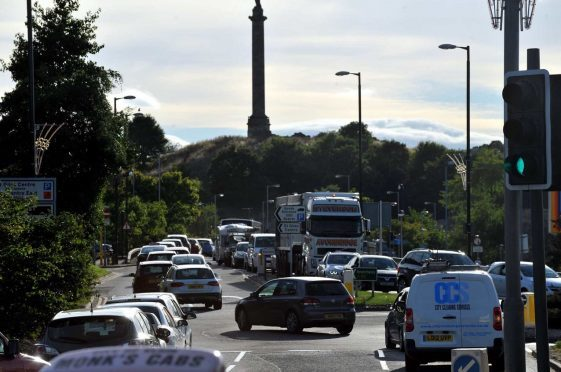 Traffic on major routes in Elgin, including the A96, is projected to increase as the town's population soars.