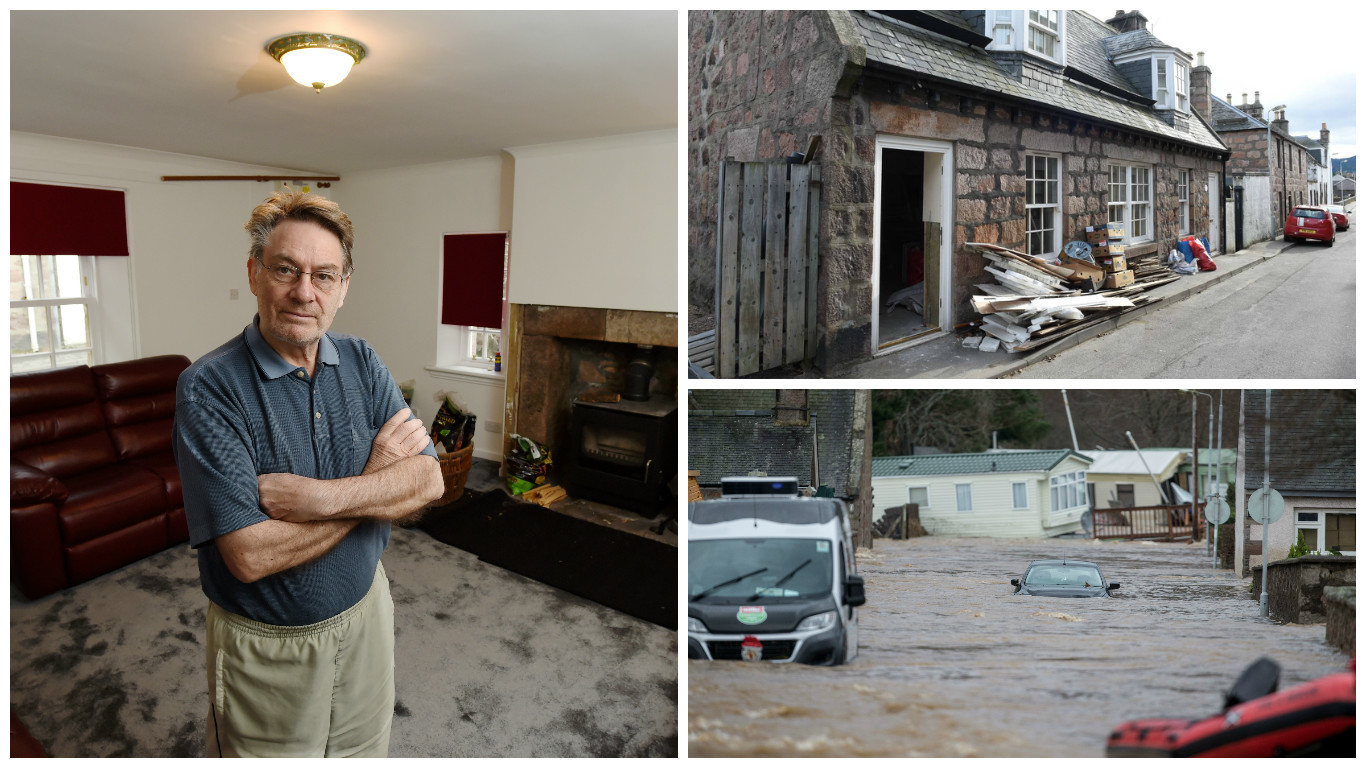 For David MacNeill, while Ballater begins to look more like its old self, the struggle to get his life back to normality continues.