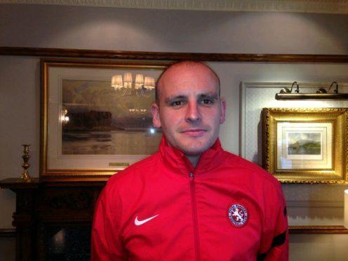 Brora Rangers player manager Grant Munro