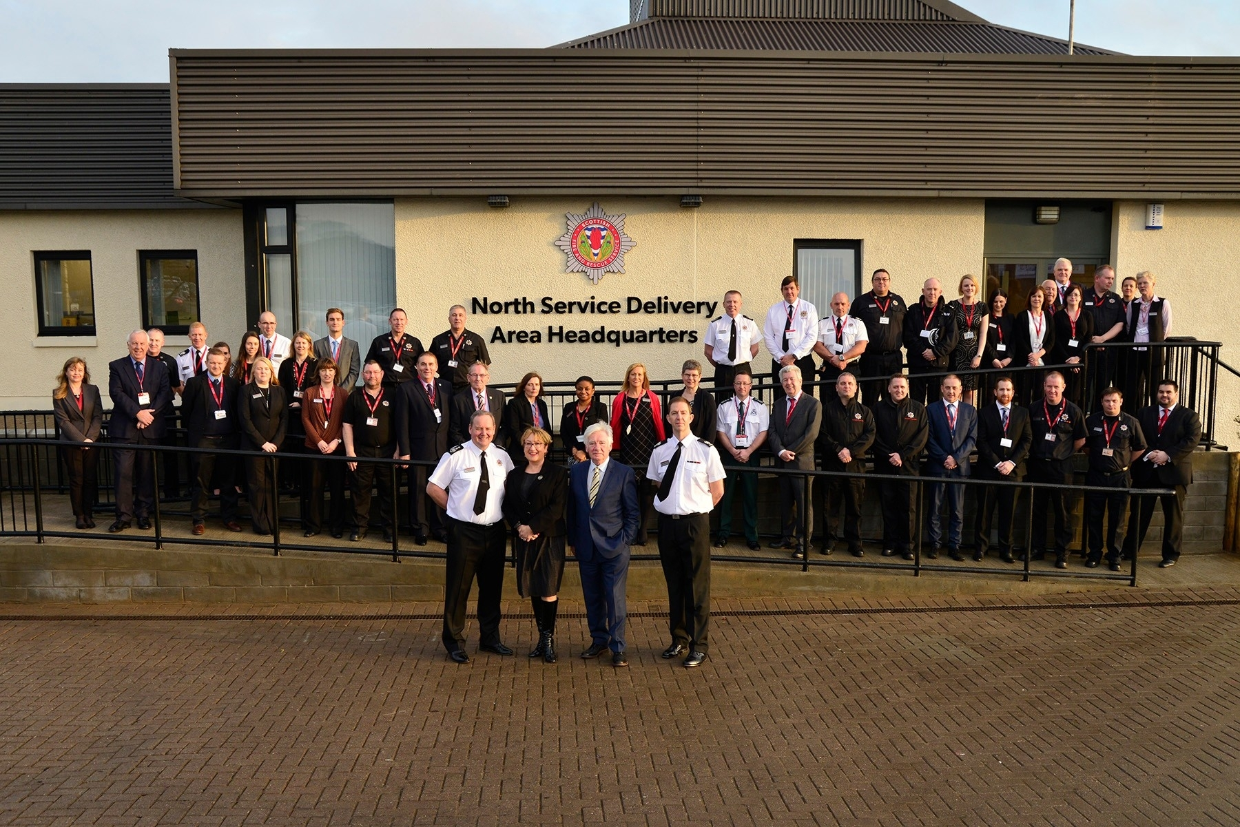 The £1million northern base for Scottish Fire and Rescue at Dyce was given a ceremonial launch by community safety minister Annabelle Ewing.