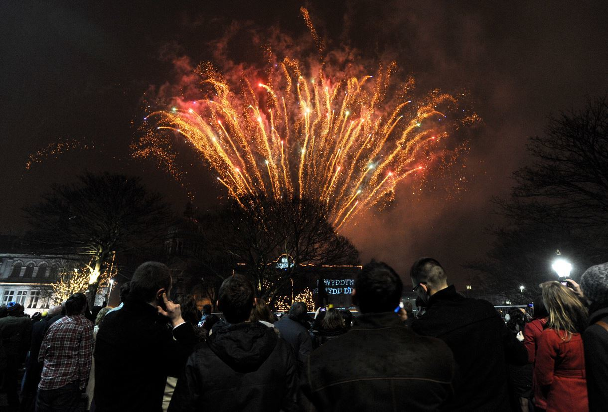 Locals believe Moray should take inspiration from Aberdeen's Hogmanay celebrations, pictured, by staging a similar event
