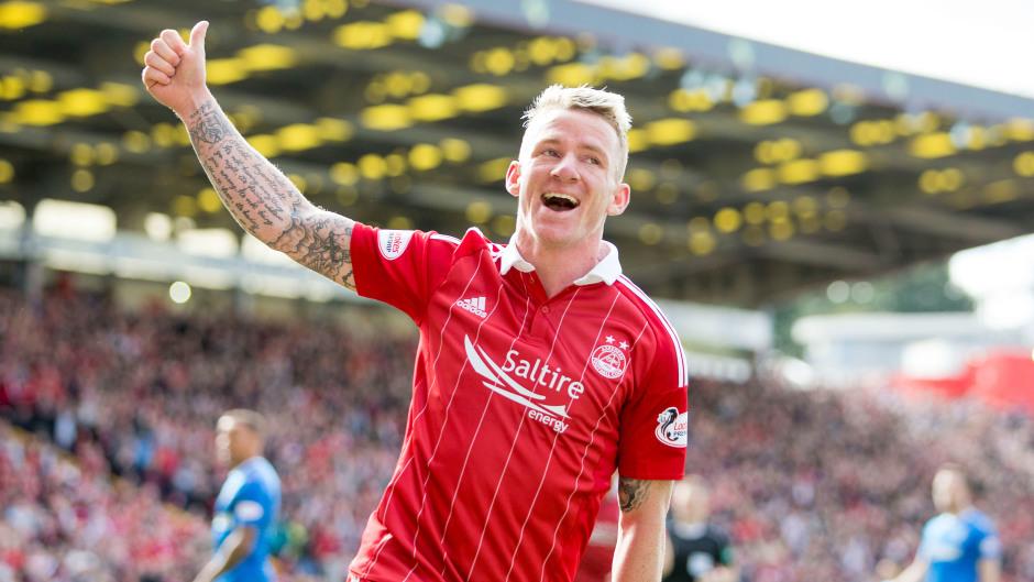 Former Aberdeen midfielder Jonny Hayes.