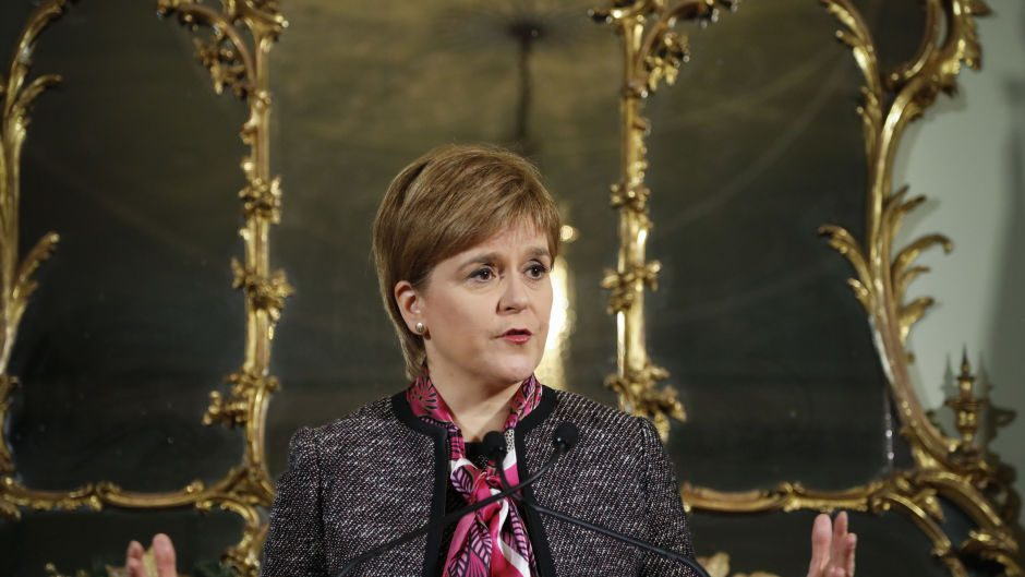 Nicola Sturgeon has warned against a hard Brexit.