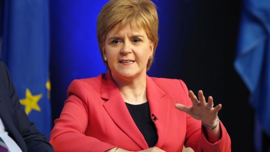 """Ms Sturgeon said steps being taken by SPA and Police Scotland to improve performance """"have not yet had a chance to have an impact""""."""
