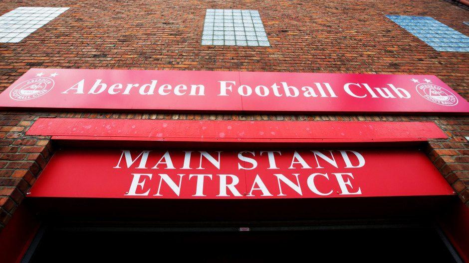 Aberdeen FC home ground Pittodrie