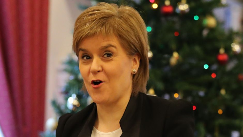 Two very different outcomes for the First Minister for 2017