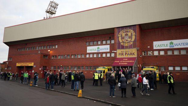Aberdeen's game against Motherwell at Fir Park has been postponed.