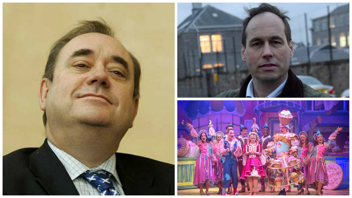 Councillor Martin Greig wants Alex Salmond to be removed from the city panto