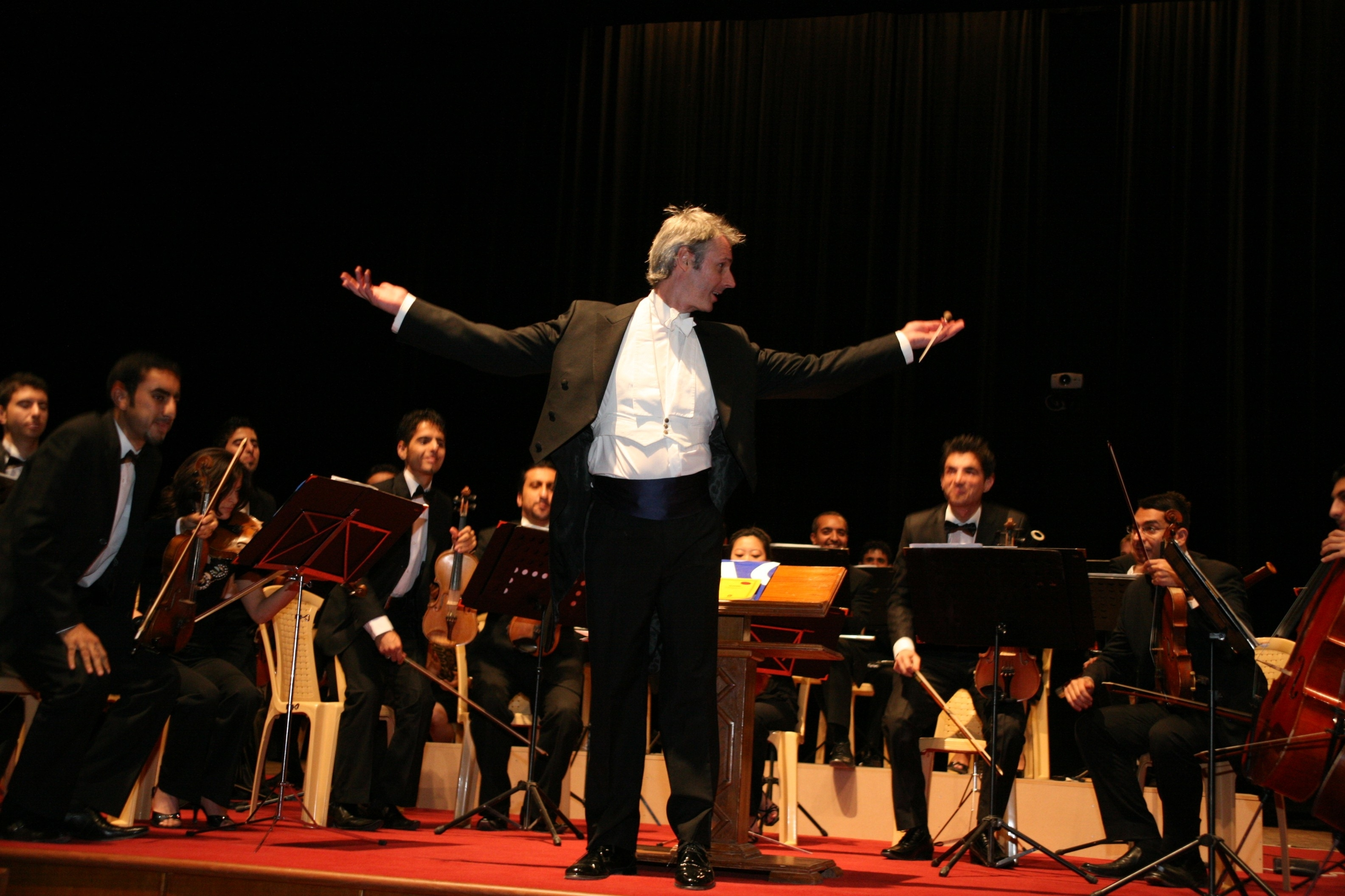 Paul MacAlindin helped create the National Youth Orchestra of Iraq.