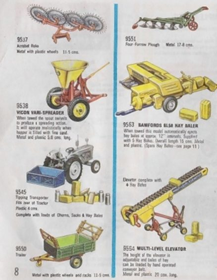 A catalogue showing the range of Britains implements available at the time