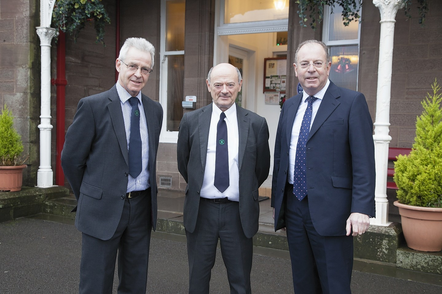 Andrew Moir, Graham Bruce and Ian Williams.