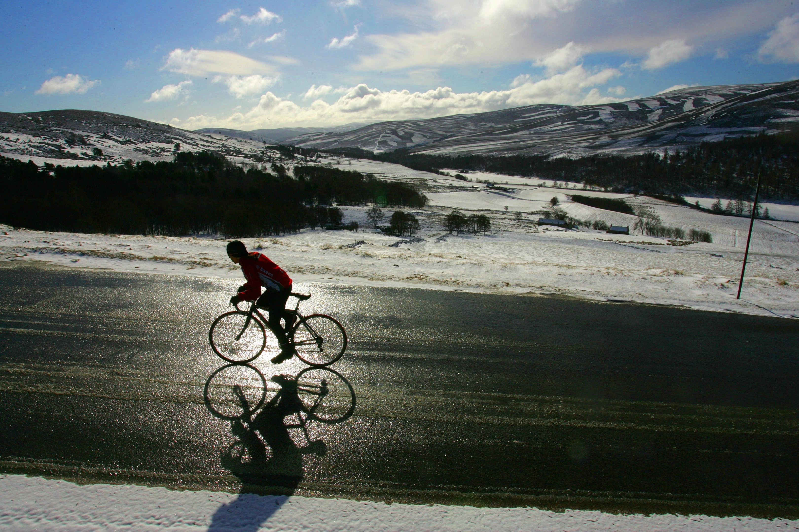"""The Cairngorms National Park Authority (CNPA), has devised a new 65-mile """"snow roads scenic route"""" from Blairgowrie to Grantown."""