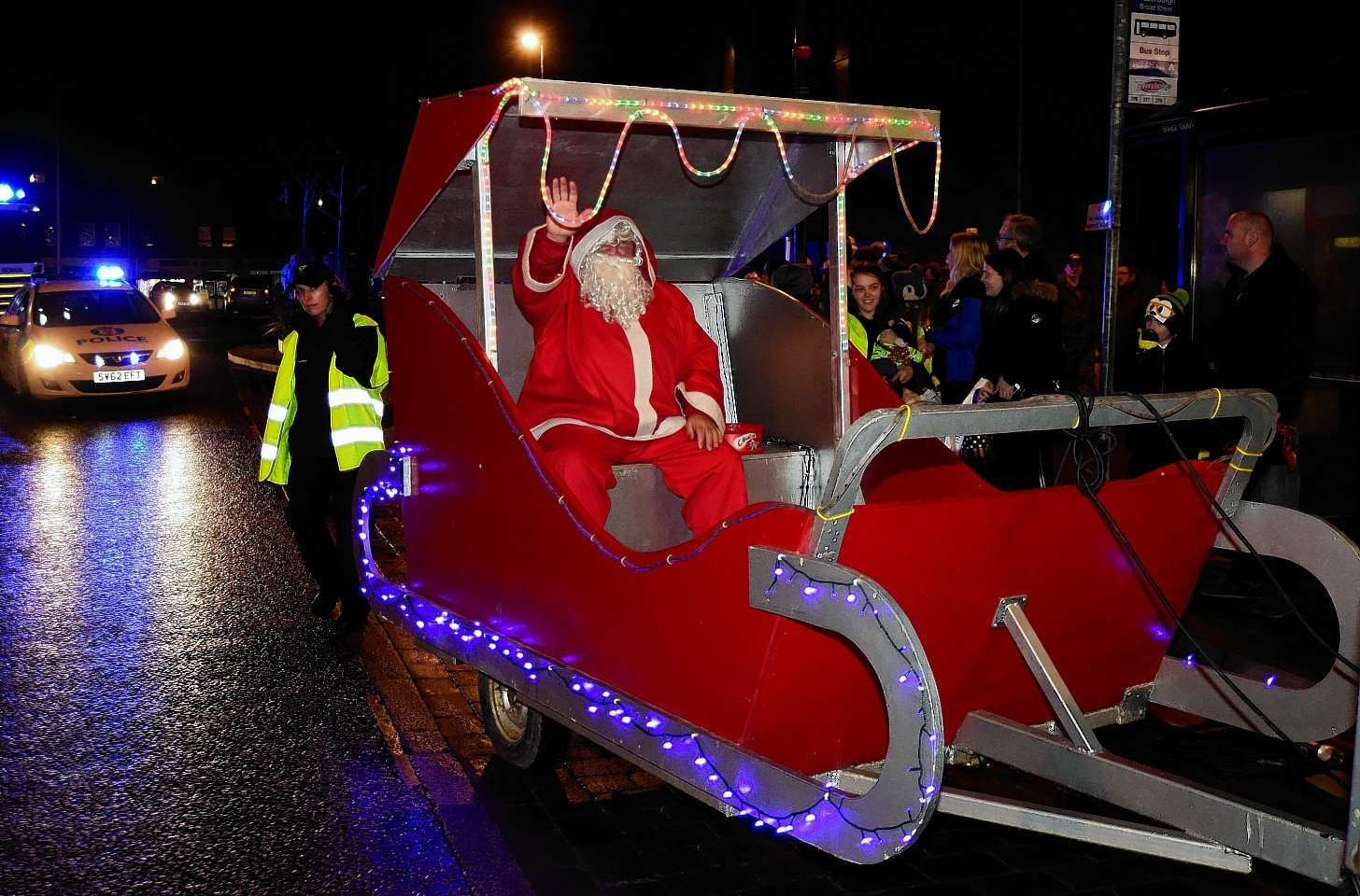 Christmas events in Fraserburgh had previously been organised by business leaders.