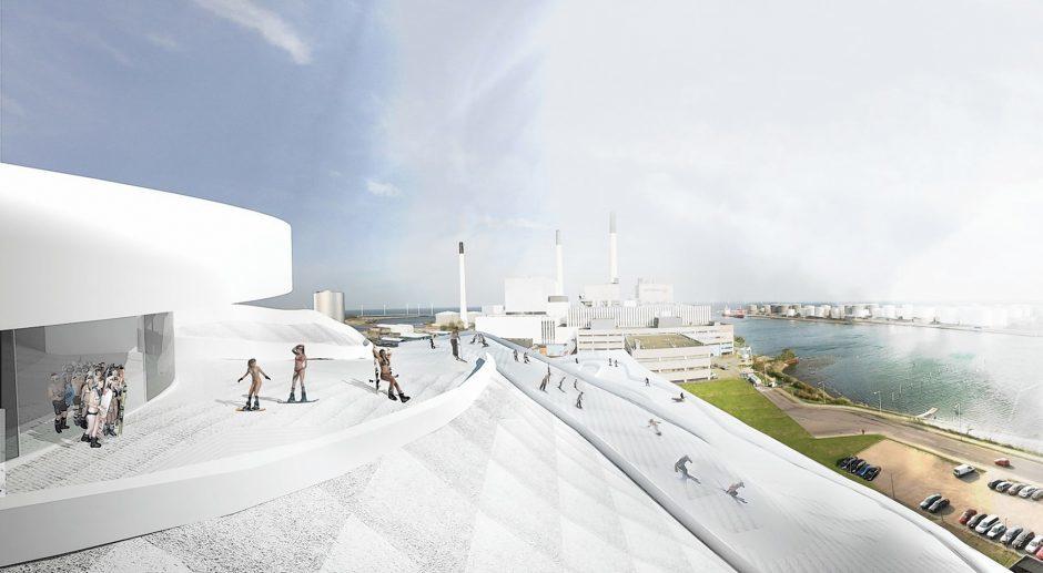 Artist impressions of a similar project in Copenhagen, Denmark