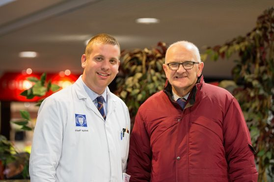Stuart Slesser and John Bremner (right)