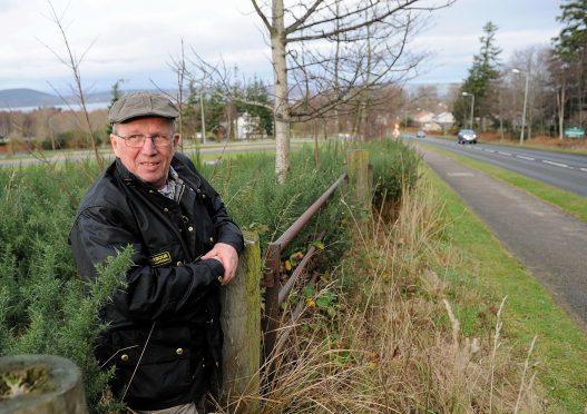 Community councillor David McGrath.