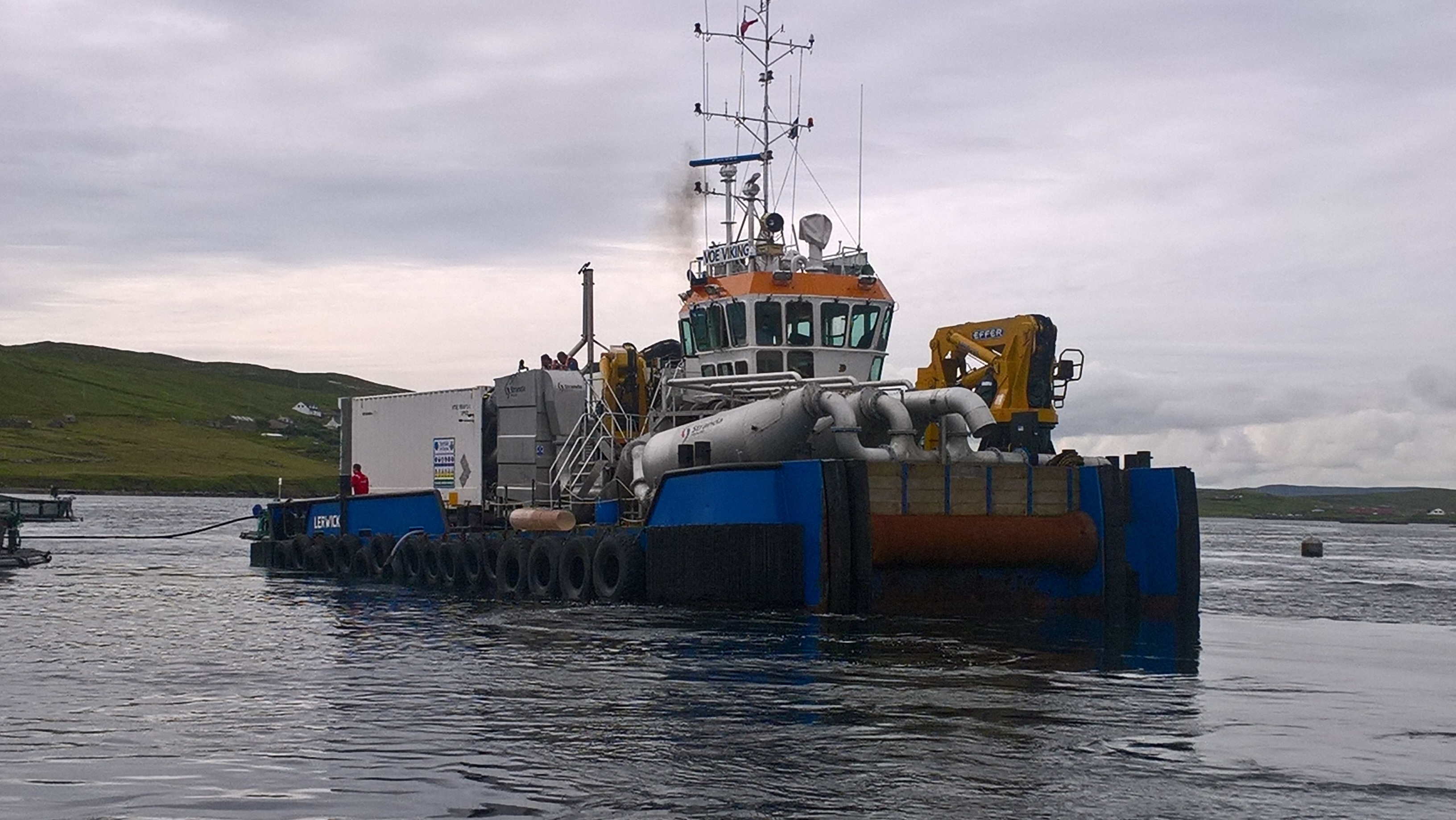 The Thermolicer pictures off Shetland.