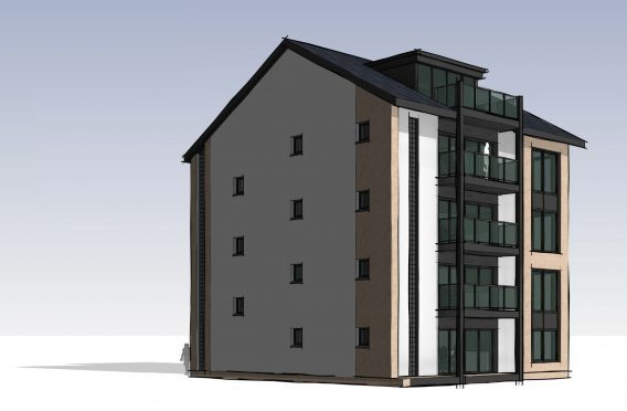 """One councillor branded the flats, approved for Torvean, """"Lego like."""""""