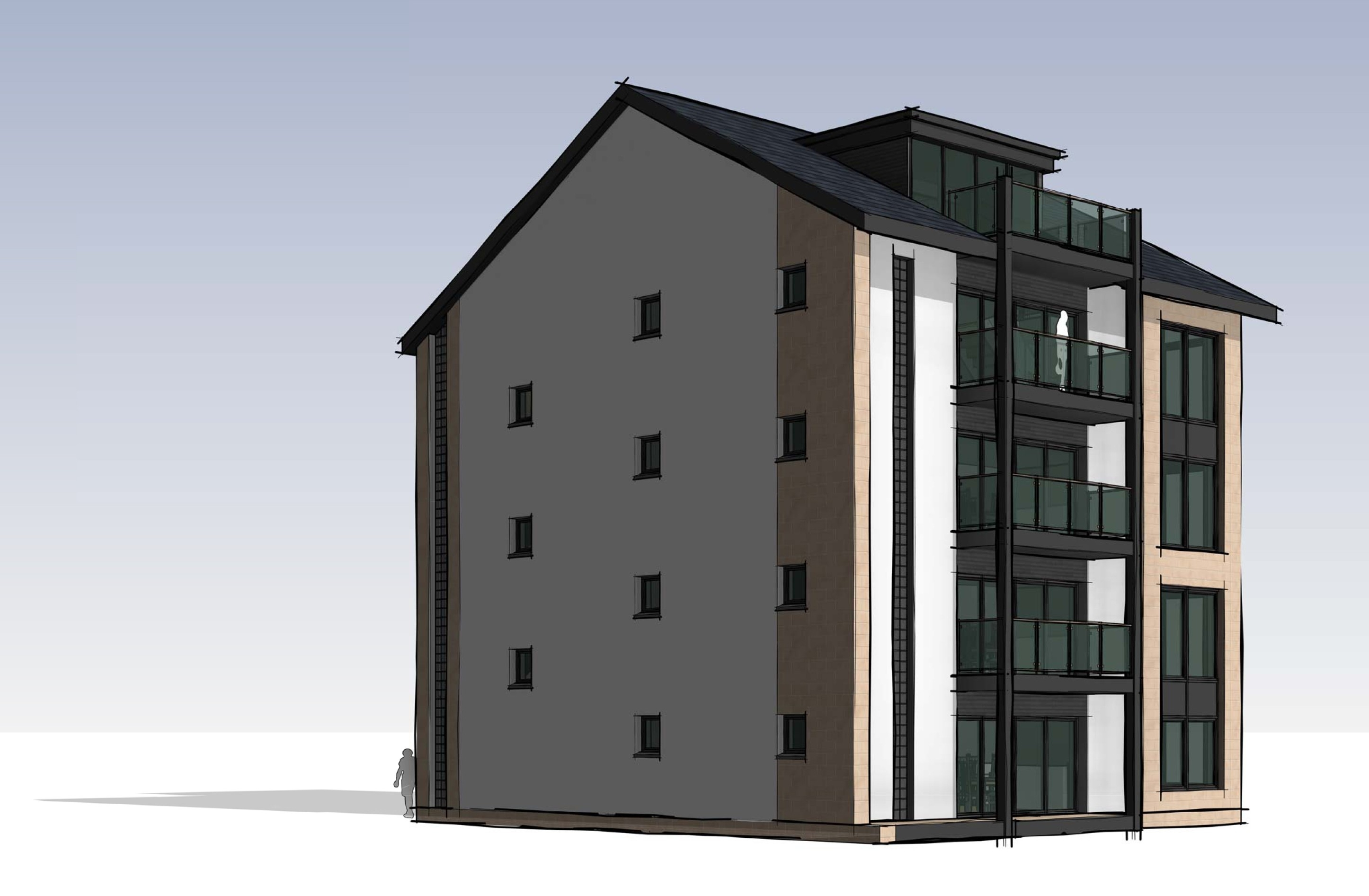"One councillor branded the flats, approved for Torvean, ""Lego like."""