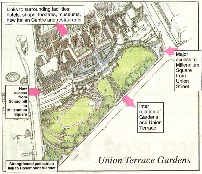 """In the 1990s the talk was of a """"millennium square"""" - a £30million project that would have created 400 jobs and included shops, restaurants and performance and exhibition space."""